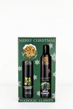Christmas liqueurs Celteg-Double Liqueur Gift Pack
