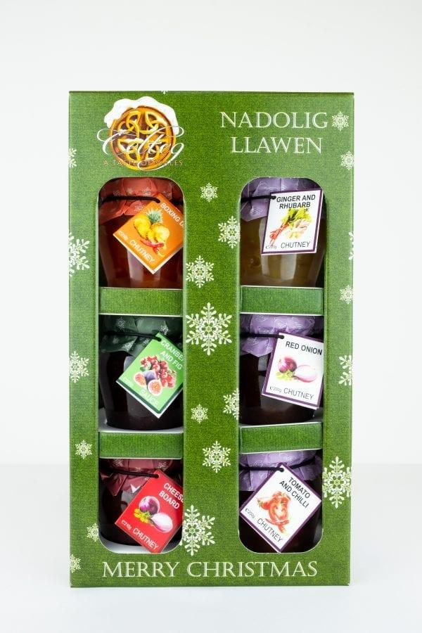 Celteg Christmas Chutney/Jam Gift Pack