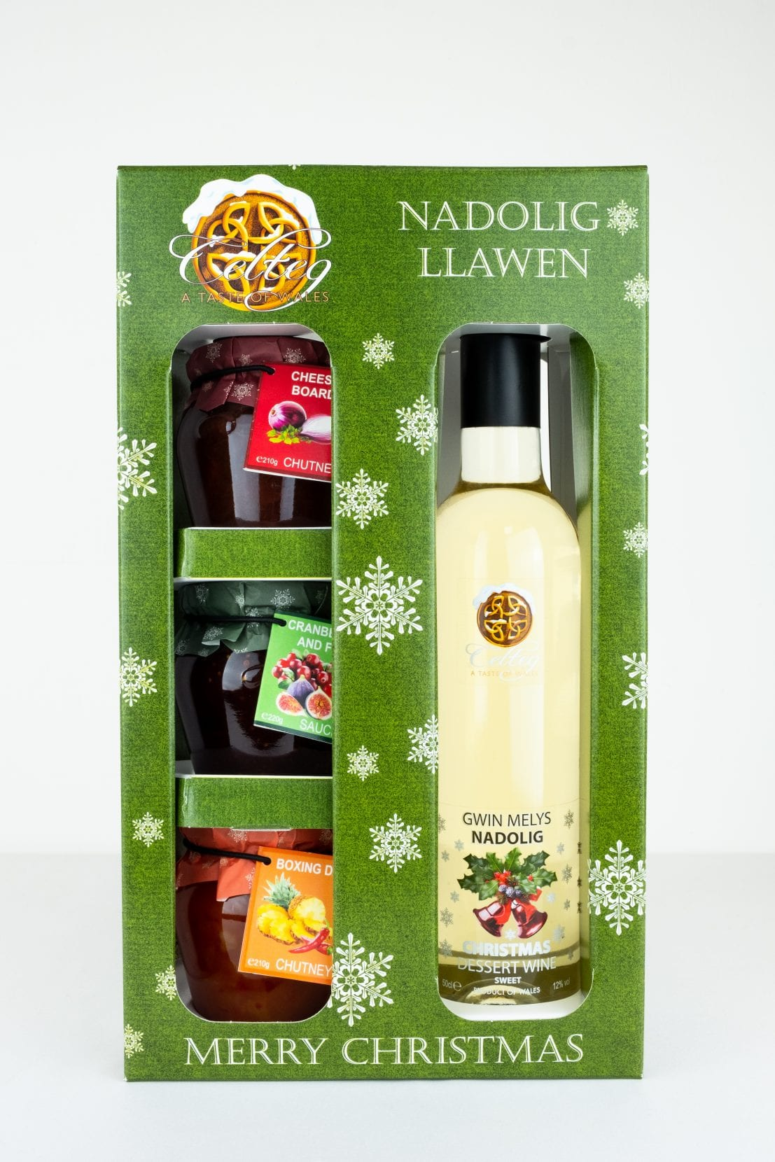 Celteg Wine and 3 Jars Gift Pack